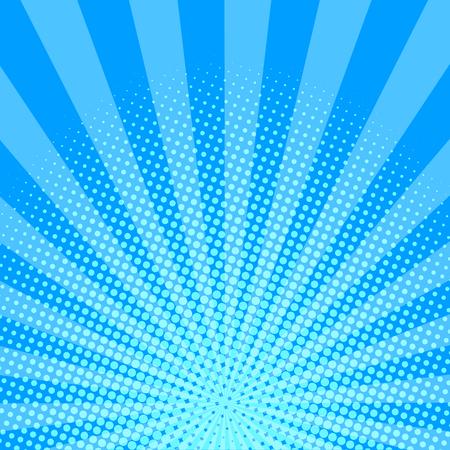 青いハーフトーン背景ベクトルイラスト。