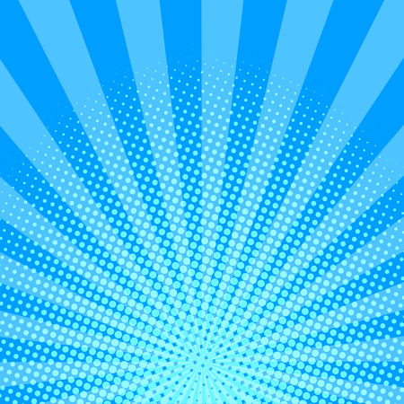 Blue halftone background vector illustration.