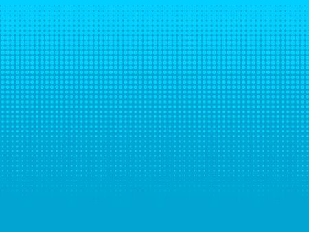 青い水中ハーフトーン背景ベクトル。