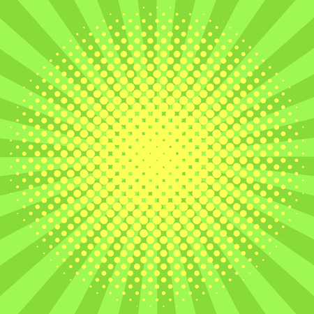 Green halftone background vector illustration