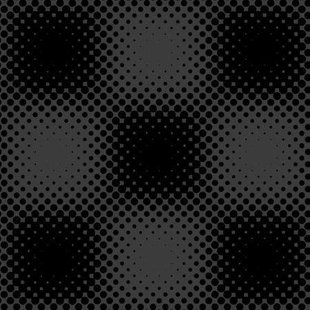 Dark grey black halftone background vector Иллюстрация