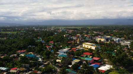 The town of Butler in the Philippines, located in the mountainous province of Aurora is known as the capital of surfing. Baler, Aurora, Philippines. Zdjęcie Seryjne