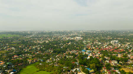Zamboanga City, Large city and port, western Mindanao, Philippines.View from above Zamboanga. Reklamní fotografie