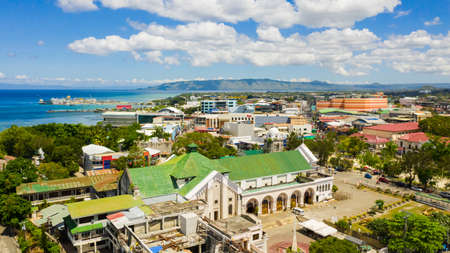 Tagbilaran is the capital city of the island province of Bohol in the Philippines. Stok Fotoğraf - 168137991