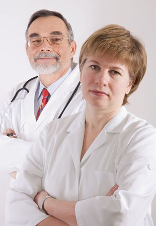 Male and female medical professionals.  Stock Photo - 2558141