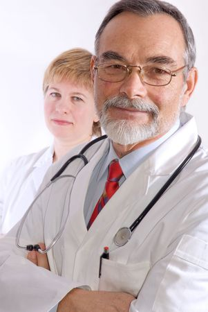 Male and female medical professionals. Stock Photo - 2558140
