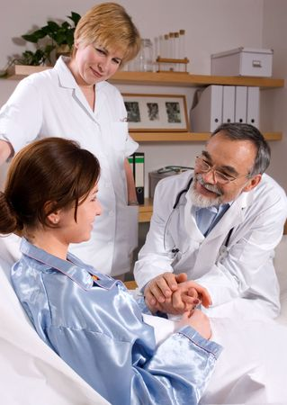 Caring professionals Stock Photo - 3001650