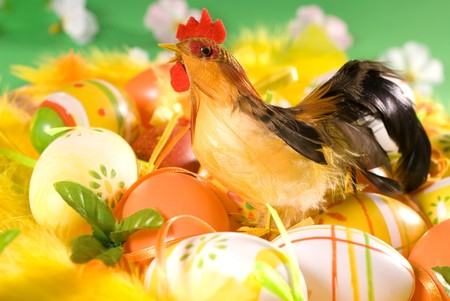 easter eggs Stock Photo - 4178516