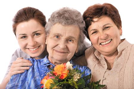 grandmas: generaci�n Foto de archivo