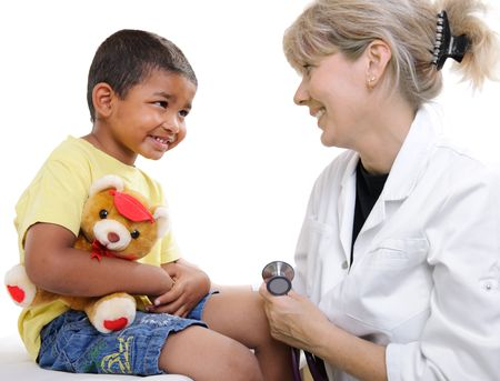 childrens doctor photo