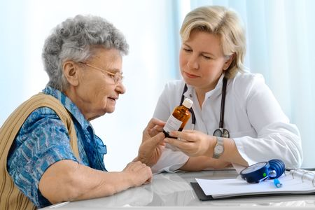 prescribe: doctor and patient
