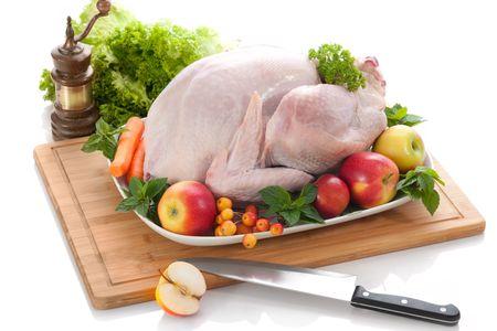 poultry: stuffed turkey