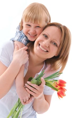 flowers for mom Stock Photo - 6862277