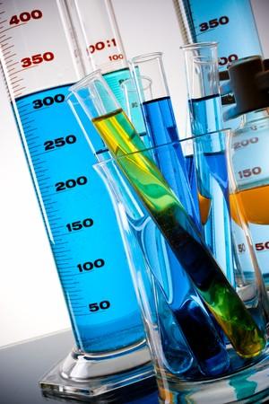 cristalería: equipos de laboratorio
