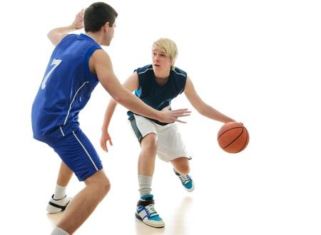 dribble: basketball game