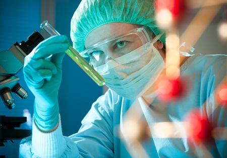 investigador cientifico: cient�fico que trabaja en el laboratorio