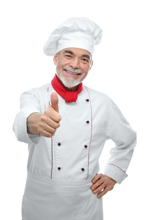 handsome chef photo