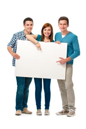 exibindo: Grupo de adolescentes que est Banco de Imagens