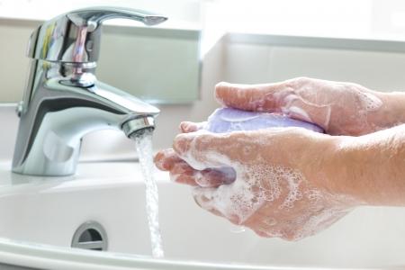 Hygiënische reiniging Handen wassen handen