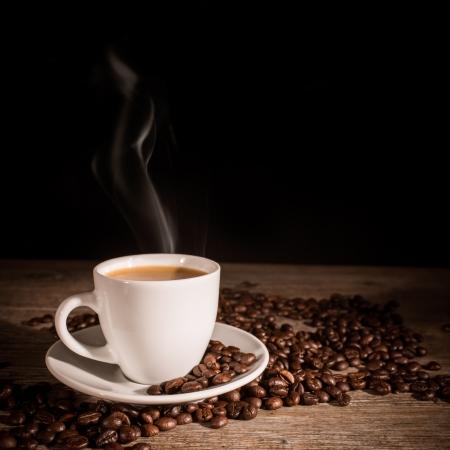 エスプレッソ コーヒー 写真素材