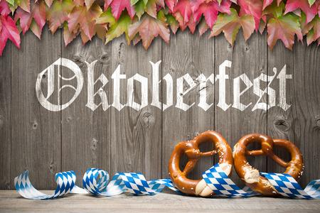 Oktoberfest german beer festival template background. 写真素材