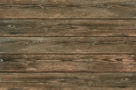 Wood texture, natural dark brown vintage wooden background Banco de Imagens