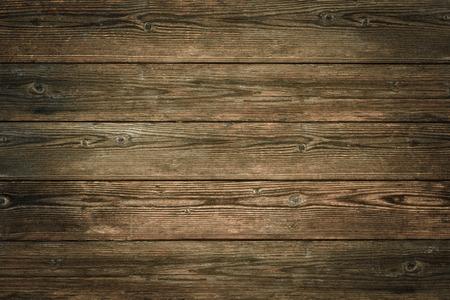 Wood texture, natural dark brown vintage wooden background Standard-Bild