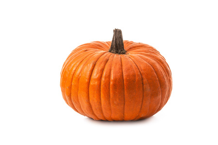 Pumpkin isolated on white background Banco de Imagens
