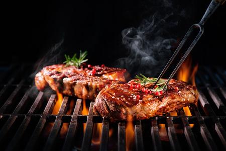 炎のグリル ステーキ