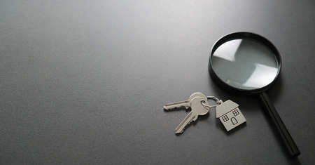 Looking for a new home. Apartment search. Real Estate Concept
