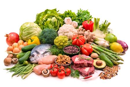 Alimentos de dieta equilibrada