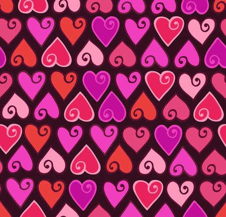 hearts valentine pattern
