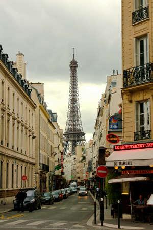 paris street: Street in Paris Editorial