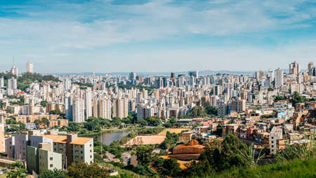 Belo Horizonte meaning Beautiful Horizon is the sixth largest city in Brazil and capital of the South-eastern state of Minas Gerais, Brazil Stock fotó