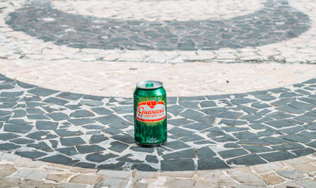 Illustrative editorial of typical soft drink in Brazil called Guarana Banco de Imagens - 93494597