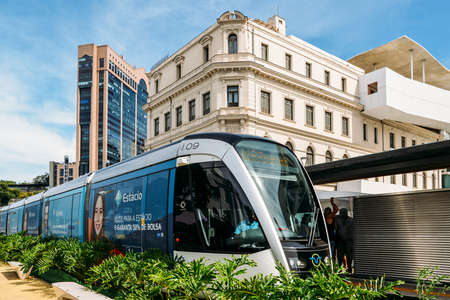 Municipality of Rio de Janeiro introduced VLTs vehicle light rail in 2016, which runs in the downtown district