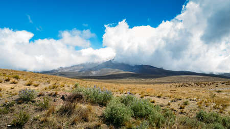 Chimborazo is a currently inactive stratovolcano in the Cordillera Occidental range of the Andes