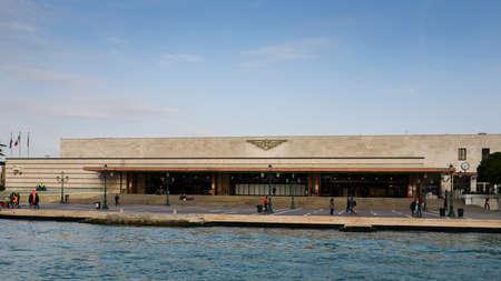 Saint Lucia railway station, Venice Banco de Imagens - 110868447