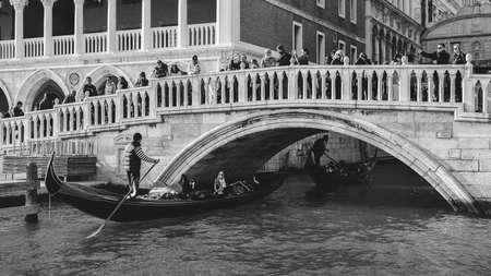 Ponte della Paglia, known as Bridge of Straw, is one of most beautiful bridges in Venice. It is located behind Palazzo Ducale close to which crosses Rio di Palazzo