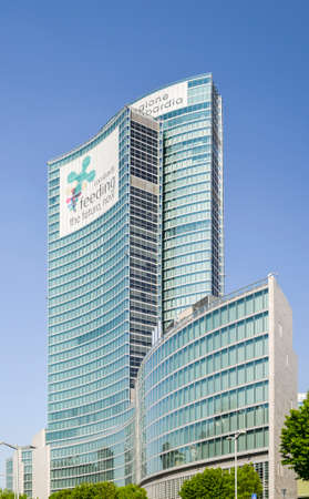 The regional palace, or Palazzo della Regione, is the public administrative Headquarters for the Lombardy region