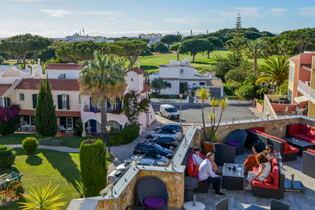 The Old Village in Algarve, Portugal is a collection of 280 properties built in 18th century Portuguese and English architecture nestled in the centre of the Pinhal Golf Course in Vilamoura, Algarve 新聞圖片