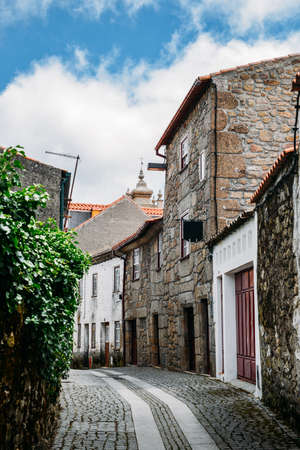 Guarda, Portugal's ancient Jewish district, the Judiaria, has retained much of its 14th century charm Standard-Bild