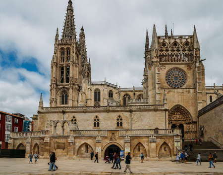 13th-century Burgos Cathedral is outstanding for the elegance and harmony of its architecture - UNESCO World Heritage designation