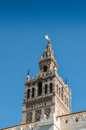 Famous Cathedral of Sevilla in Andalucia, Spain