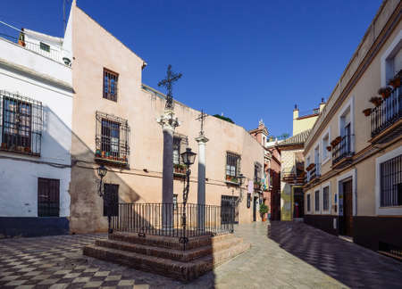 Santa Cruz District in Seville, Andalusia, Spain