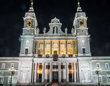Almudena Cathedral is Catholic church in Madrid, Spain. It is seat of Roman Catholic Archdiocese of Madrid. It was consecrated by Pope John Paul II in 1993