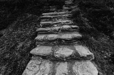 Rocky stairs to somewhere. Captured in Porto Covo, Portugal