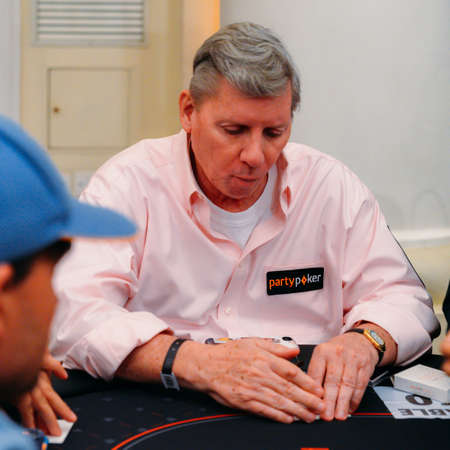 Mike Sexton at the PartyPoker Millions Poker Tournament at Copacabana Palace, Rio de Janeiro, Brazil on 3 March 2019 Sajtókép