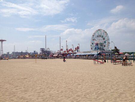 coney: View of Coney Island