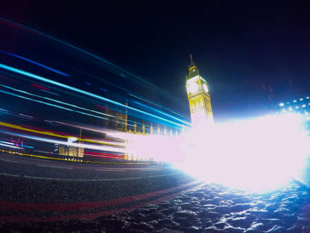bigben: A photo of long exposure that came out a little different, but no less interesting.